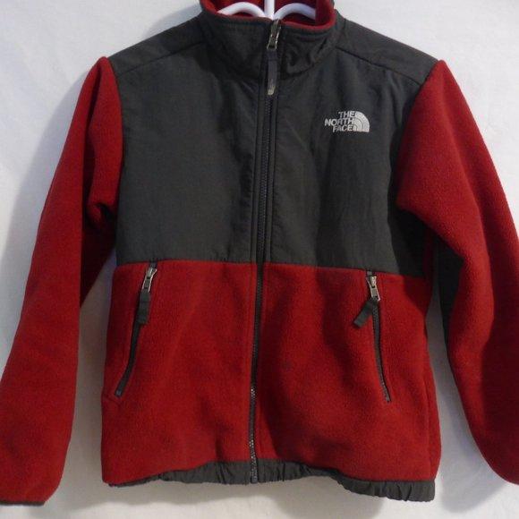 THE NORTH FACE, red denali fleece jacket, preloved